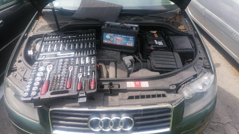remplacement batterie AUDi